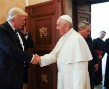 Президент Трамп в Ватикане (ФОТО)