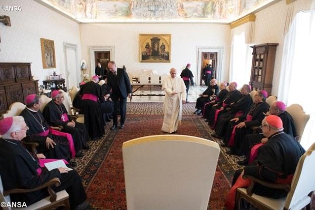 Епископы Кубы встретились с Папой Франциском