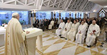 Папа: подлинное учение объединяет, идеология же ведёт к расколу