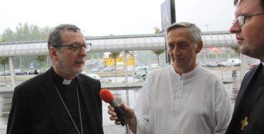 Апостольский нунций архиепископ К. Гуджеротти рассказал о Конгрегации Восточных Церквей и об обстановке на Украине