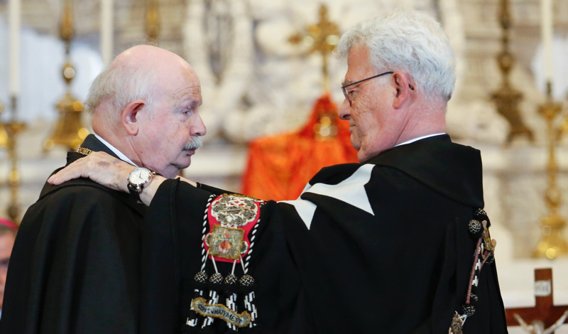 Рыцари Мальтийского ордена выбрали временного руководителя сроком на один год