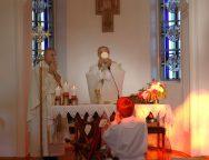 Торжество Пресвятого Сердца Иисуса в католической общине Томска (ФОТО)