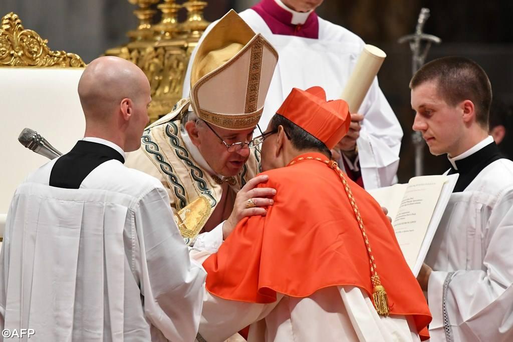 Папа — новым кардиналам: будьте реалистами, служите Богу и братьям (ФОТО)