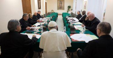 Итоги очередной встречи Совета кардиналов