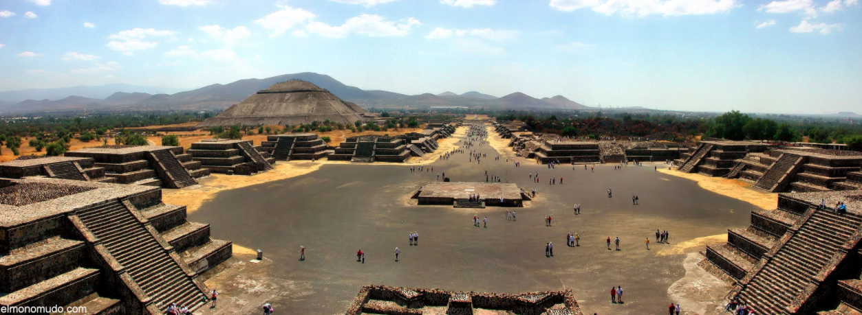 Ученые раскрыли тайну знаменитых пирамид города Теотиуакан в Мексике