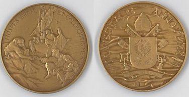 Выпущена памятная медаль к пятой годовщине понтификата Папы Франциска