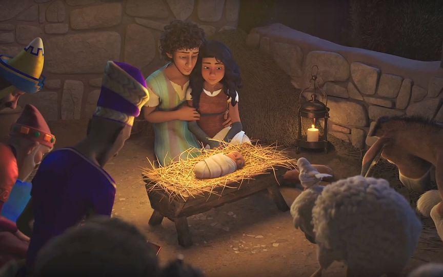 Новый мультфильм расскажет историю Рождества с точки зрения животных