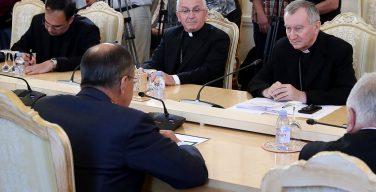 Путин обсудит с госсекретарем Ватикана двустороннюю повестку, ситуацию в Сирии и на Украине – Кремль