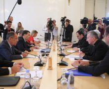 Госсекретарь Ватикана отметил высокий уровень отношений с Россией. Пресс-конференция по итогам переговоров в МИД РФ (+ ВИДЕО)