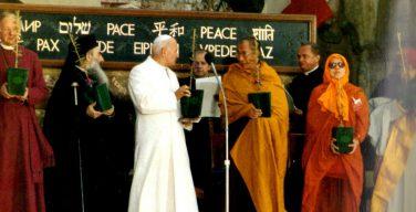 Папа: религии призваны выступать в защиту мира, против войны и терроризма