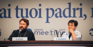 Митрополит Волоколамский Иларион выступил на ежегодном форуме в Римини