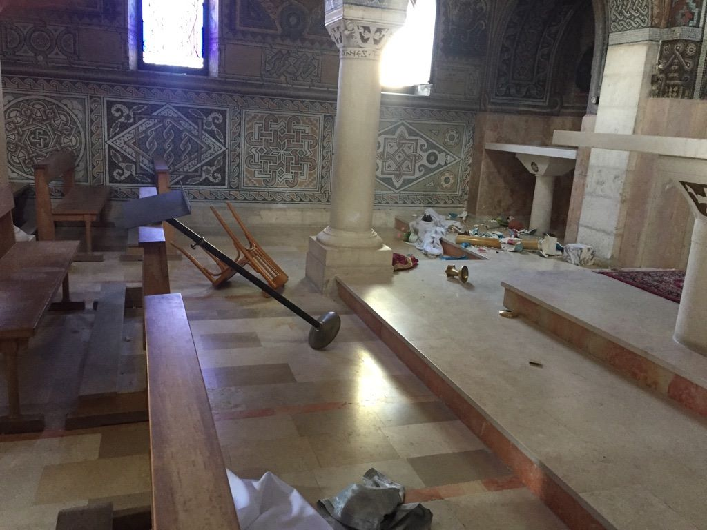 В Израиле религиозные фанатики совершили нападение на католический храм