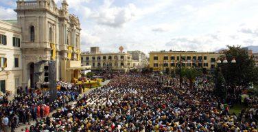 Папа направил послание участникам Семейного паломничества в Помпеях