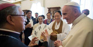 Папа — делегатам Корейского совета религиозных лидеров: мир ждёт от нас помощи