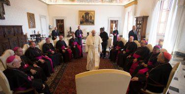 Папа встретился с епископами Гондураса