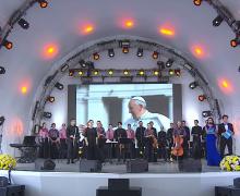 Хор из Новосибирска выступил на Всемирной выставке ЭКСПО-2017 в Астане (ФОТО)
