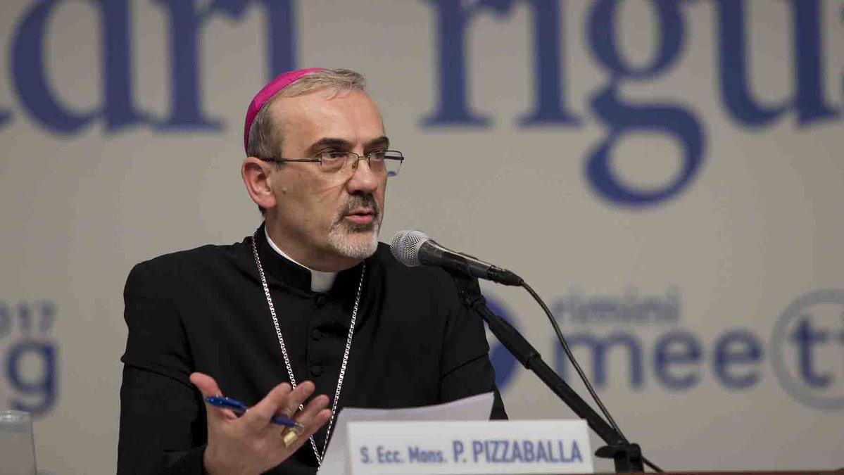 Архиепископ Пиццабалла: «Наше наследие — жизнь Бога в нас»