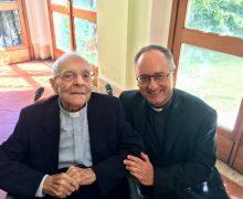Папа поздравил со 100-летием о. Стефаницци, бывшего директора Радио Ватикана