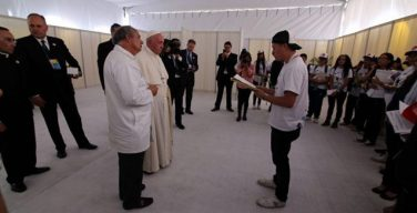 Папа встретился с молодёжью из «Scholas Occurrentes»