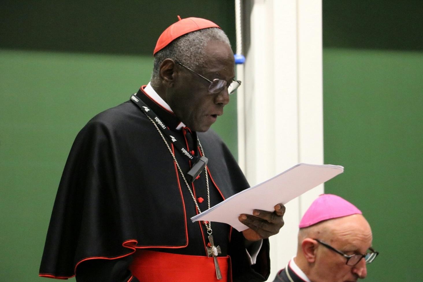 Папа — кардиналу Сара о переводе литургических текстов