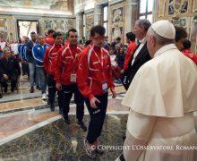 Спорт — повод для встречи и надежды. Папская аудиенция спортсменам из «Special Olympics»