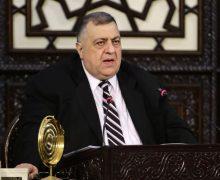 Сирийский парламент возглавил христианин