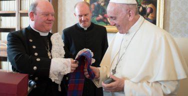 Папа — делегации Церкви Шотландии: да укрепит Святой Дух наше единство
