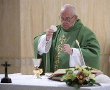 Папа: благодать стыда исцеляет от греха