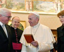 Папа Римский встретился с федеральным президентом Германии