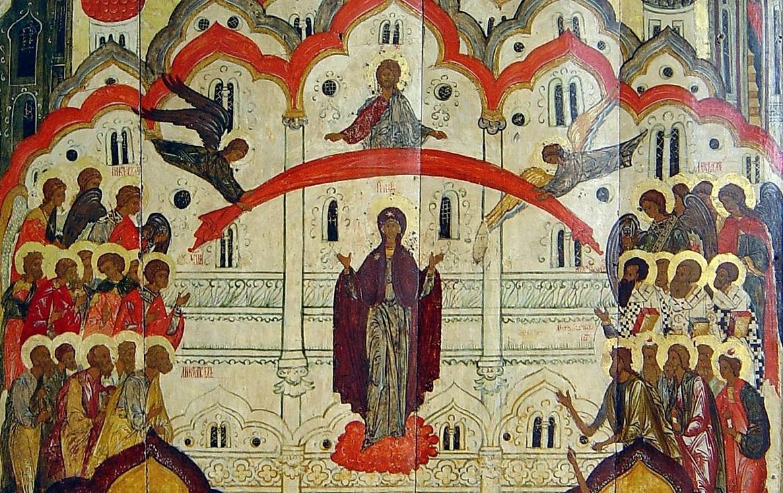 14 октября восточные христиане отмечают Покров Пресвятой Богородицы