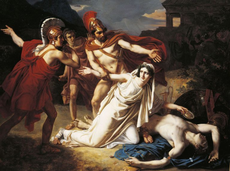 a conflict between human law and higher law in antigone by sophocles Human law is the type of law that is set up to govern the land and the community as it is stated on the internet site, encyclopediacom, human law the only thing creon had done was to set up a law in his community even though this law was broken by antigone, creon was very narrow-minded with.
