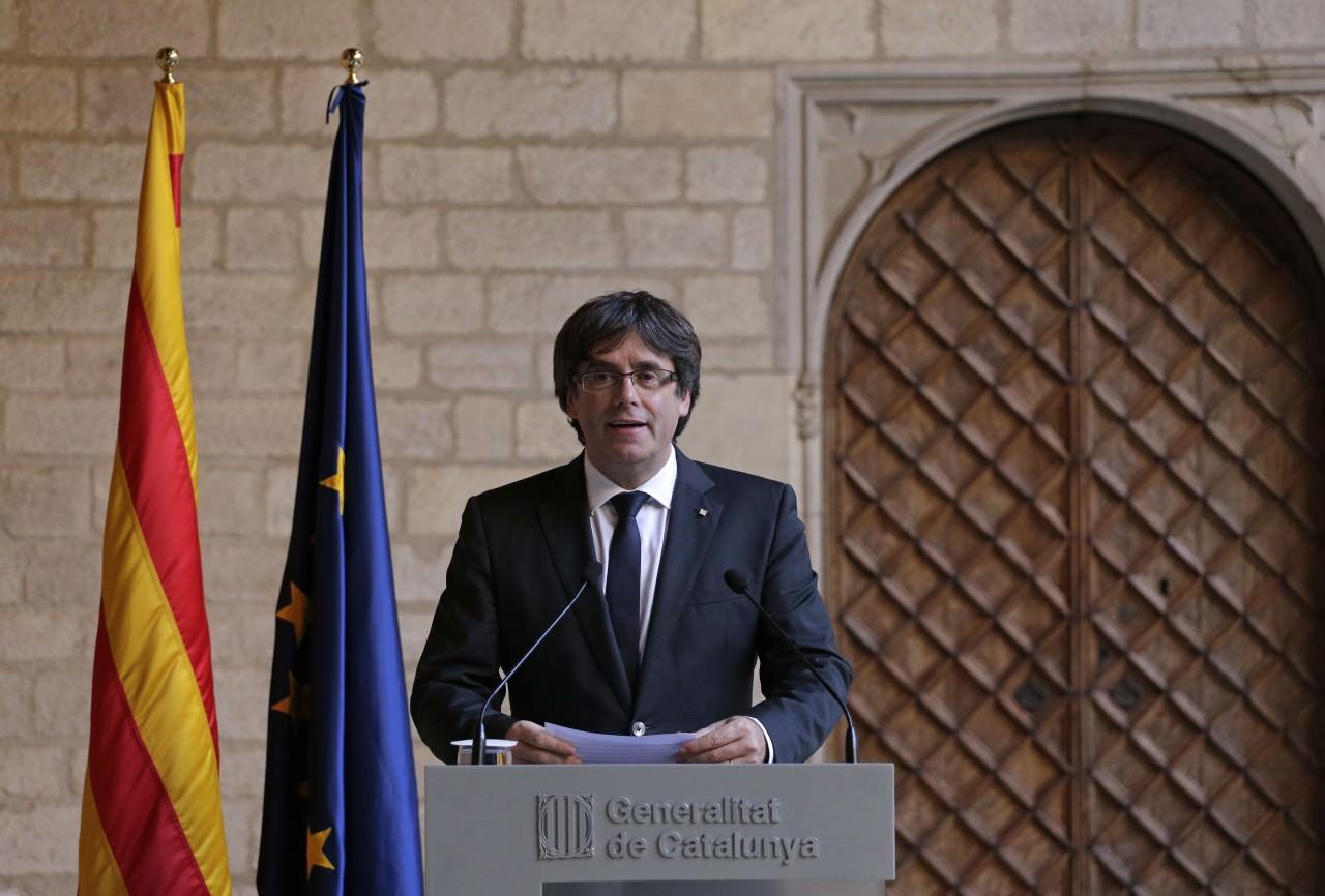 Испания: парламент Каталонии объявляет независимость региона