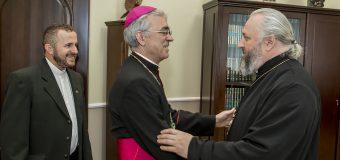 Братская встреча в Епархиальном управлении Кузбасской митрополии РПЦ