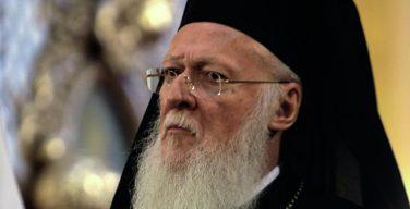 Патриарх Варфоломей: религия считает любую войну гражданской