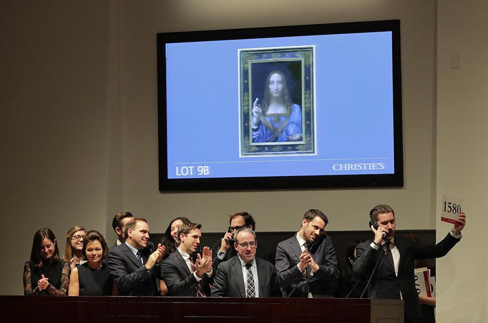 «Спаситель мира» да Винчи ушел с молотка за рекордную сумму