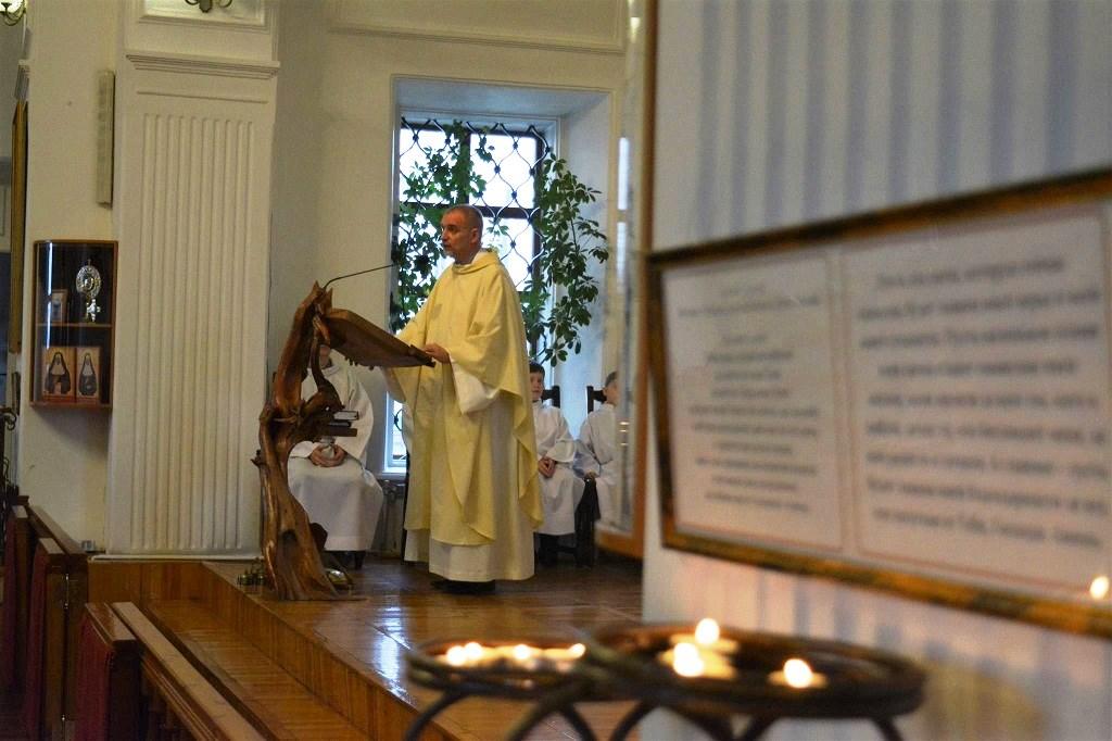 «Почему я люблю Католическую Церковь». Слово о. Войтека Зиолека на годовщину освящения храма в Томске