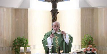 Папа Франциск: на пути к Царству Божьему нужна решительность
