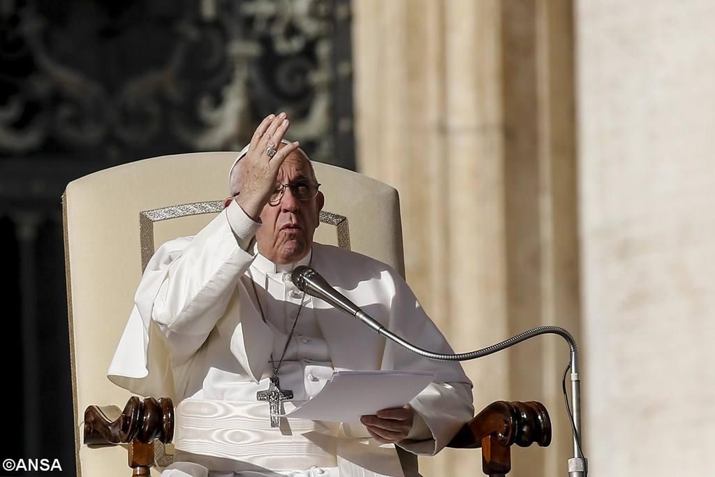 Папа Франциск на общей аудиенции 22 ноября: Месса как восхождение на Голгофу