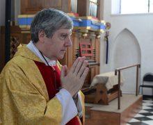 Владыка Иосиф Верт побывал на праздновании юбилея рукоположенного им 25 лет назад священника