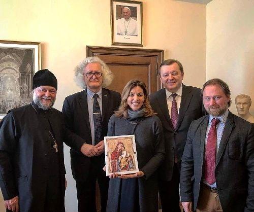 Предпоказ выставки икон «Святые неразделенной Церкви» состоялся в Москве