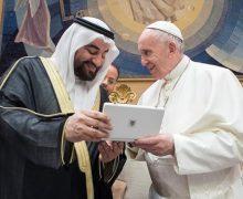 Папа Франциск встретился с представителем Саудовской Аравии