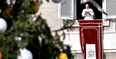 Слово Папы Франциска перед чтением молитвы «Ангел Господень» в в торжество Непорочного Зачатия. 8 декабря, площадь Св. Петра