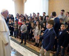Папа — детям из итальянского «Католического действия»