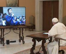 Папа Франциск ответил на вопросы японских студентов