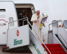 Папа Франциск закончил апостольский визит по странам Азии (ФОТО)