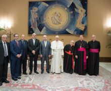 Папа — палестинской делегации: в основе диалога должно находиться взаимное уважение