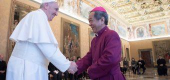 Папа встретился с Национальным советом Церквей Тайваня (+ ФОТО)