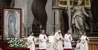 Папа в праздник Богоматери Гваделупской: защитим разнообразие латиноамериканских народов