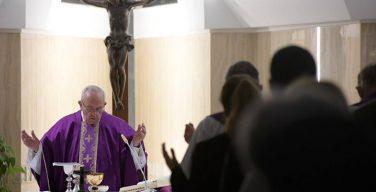 Папа: будем всегда открыты для Божьего утешения