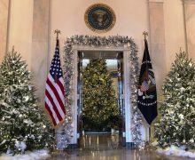 Белый Дом приступил к празднованию Рождества (ФОТО)